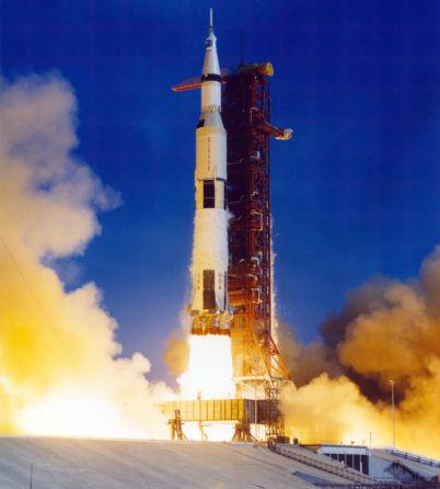 Saturn V launching