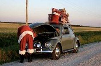 Santas VW Bug