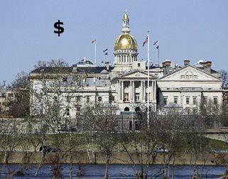 NJ Captitol building where money is spent