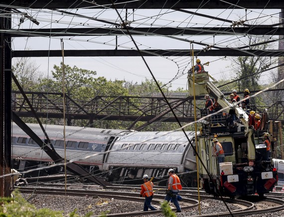 Philadelphia Amtrak Accident 2015