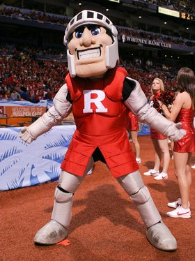 The Scarlet Knight Mascot