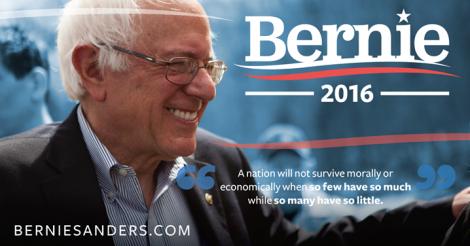Bernie Sanders Presidential Candidate