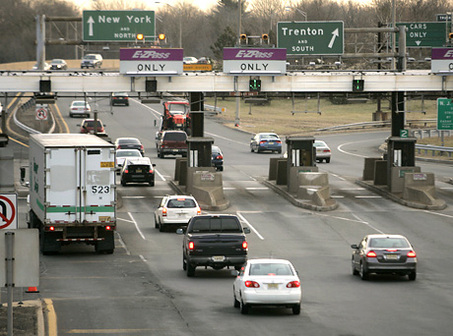 NJ Turnpike tolls