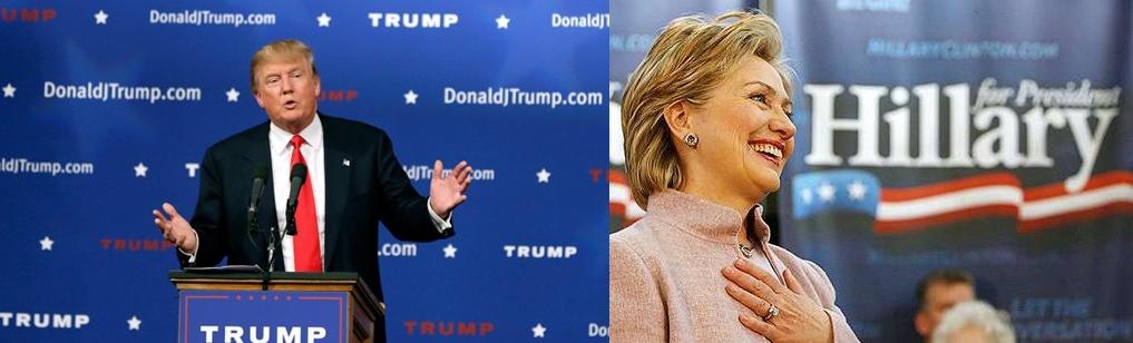 Donald Trump-Clinton