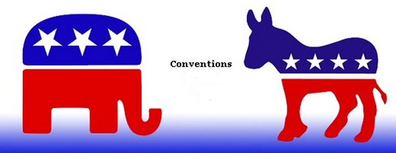 Democratic Republican conventions