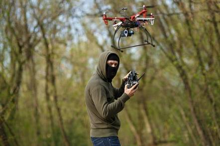 drone and criminals