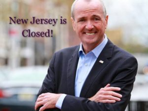 New Jersey is closed!